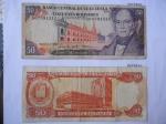 monedas de America - Venezuela -  Banco Central de Venezuela-(Anv.)Palacio de las academias-Andrés Bello- (Rev.) Edf. Bco. Central