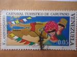 Sellos de America - Venezuela -  X Aniversario Carnaval Turístico de Carupano