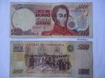 monedas de America - Venezuela -  Banco Central de Venezuela-(Anv.) Simón Bolívar-(Rev.)Declaración de la Indepndencia.