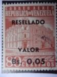Stamps Venezuela -  Oficina Principal de Correos -Caracas