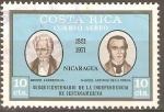 Stamps Costa Rica -  MIGUEL  LARREINAGA  Y  MANUEL  ANTONIO  DE  LA  CERDA