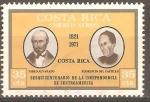 Sellos de America - Costa Rica -  PABLO  ALVARADO   Y   FLORENCIO  DEL  CASTILLO