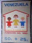 Stamps Venezuela -  Fundación del Niño-Hogares de Cuidados Diarios