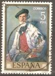Sellos de Europa - España -  PABLO  URANGA.   PINTURA  DE  ZULOAGA