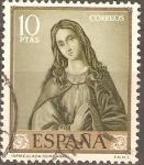 Sellos de Europa - España -  VIRGEN  DE  LA  INMACULADA.  PINTURA  DE  ZURBARAN