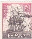 Stamps Spain -  Corbeta