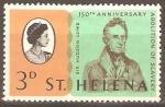 Stamps United Kingdom -  ABOLICIÒN  DE  LA  ESCLAVITUD  EN  SANTA  ELENA