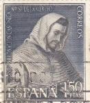 Sellos de Europa - España -  San pedro Nonasclo -75 Aniversario de la coronación de Nuestra Señora de la Merced  (1)