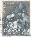 Stamps Spain -  Nacimiento de Jesús- Misterios del Santo Rosario (1)