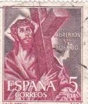 Sellos de Europa - España -  Cristo con la Cruz - Misterios del Santo Rosario (1) VENTA