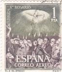 Sellos de Europa - España -  Pentecostés - Misterios del Santo Rosario (1)