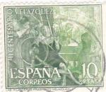 Sellos del Mundo : Europa : España : Las hilanderas - III Centenario de la muerte de Velázquez (1) VENTA