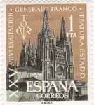 Sellos del Mundo : Europa : España : (1) XXv aniv exaltacion Gral Franco