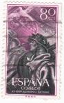 Stamps Spain -  XX aniversario del Alzamiento Nacional-Soldado laureado (1)