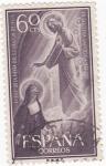Stamps Spain -  12 octu. Centenario de la fiesta del Sagrado Corazón de Jesus  (1)