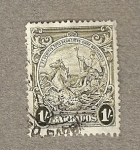 Stamps America - Barbados -  Carroza
