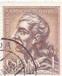 Stamps Spain -  Fruela I -XII centenario de la fundación de Oviedo  (1)