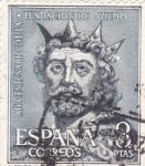 Stamps Spain -  Alfonso III -XII centenario de la fundación de Oviedo  (1)