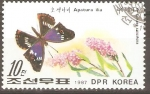 Stamps North Korea -  APATURA  ILIA