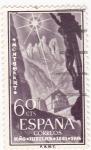 Sellos de Europa - España -  Monasterio de Montserrat - Año Jubilar de Montserrat (1)