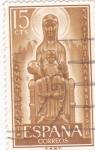 Stamps Spain -  Ntra. Sra. de Montserrat - Año Jubilar de Montserrat (1)