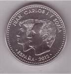 monedas de Europa - España -  10 años de la moneda única