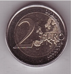 monedas del Mundo : Europa : España :  conmemorativa del X aniv. del Euro