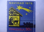 Stamps Venezuela -  Navidad 1975