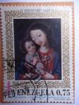 Stamps Venezuela -  Navidad 1969-La Virgen del Rosario-Autor Venezolano Anónimo del Siglo XVII.