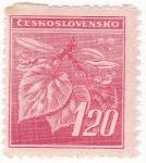 Sellos de Europa - Checoslovaquia -  Hojas