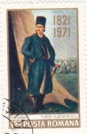 Stamps Romania -  Tudor Vladimirescu político militar