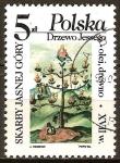 Sellos de Europa - Polonia -  Tesoros del Monasterio de Jasna Gora.