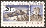 Sellos del Mundo : Europa : Polonia : batalla de Tomaszów Lubelski-Wojna obronna 1939.