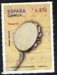 Sellos de Europa - España -  4782- Instrumentos musicales. Pandereta.