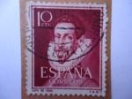 Stamps Spain -  Ed:1072- Poeta y dramaturgo: Felix Lope de Vega- 1562-1635.