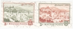 Stamps Hungary -  Panorámica de Buda y Budapest