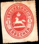 Sellos de Europa - Alemania -  estados 1865 Scott24