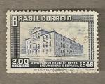 Sellos de America - Brasil -  V Congreso Postal