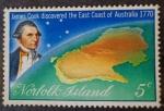 Sellos de Oceania - Australia -  James Cook
