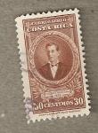 Stamps Costa Rica -  Vicente Herrera