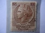 Stamps Italy -  Antigua Moneda Siracusana.