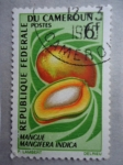 Sellos de Africa - Camerún -  Republique Federale du Cameroun- Mangifera Indica- Mangue