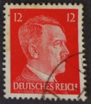 Stamps Germany -  Hitler - Imperio Alemán