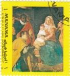 Sellos de Asia - Bahrein -  Adoración del Niño Jesús