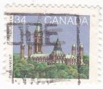 Sellos del Mundo : America : Canadá : Parlamento