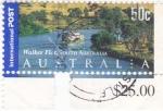 Sellos de Oceania - Australia -  Paisaje en el sur de Australia