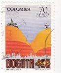 sello : America : Colombia : Bogotá 450 Años