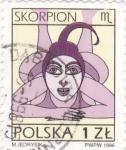 Stamps : Europe : Poland :  Skorpion