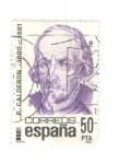 Sellos del Mundo : Europa : España : P.Calderon 1600-1681