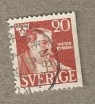 Sellos del Mundo : Europa : Suecia : Victor Rydberg